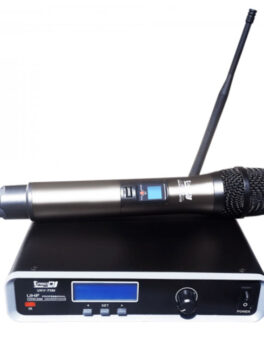 Hipercentro Electronico micrófono inalámbrico profesional UHF PRODJ UHV-711M