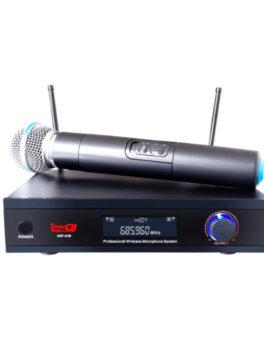 Hipercentro Electronico micrófono inalámbrico de banda UHF PRODJ UHF31M
