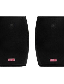 Hipercentro Electronico bafles ambientales de 6 pulgadas color negro PRO DJ P287BK