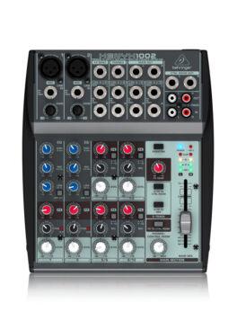 Hipercentro Electronico consola análoga de 2 canales BEHRINGER 1002