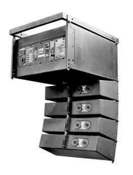 Hipercentro Electronico sistema de sonido profesional para escenarios Line Array BETA THREE R4/R8