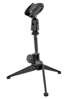 Base soporte micrófono piaña para mesa pequeño ProDj MS27S Hipercentro Electrónico