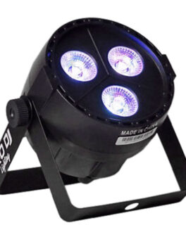 Hipercentro Electrónico luz iluminación PAR LED escenario ultravioleta uv presentación ambientación luz MINI PAR 35UV Pro Dj