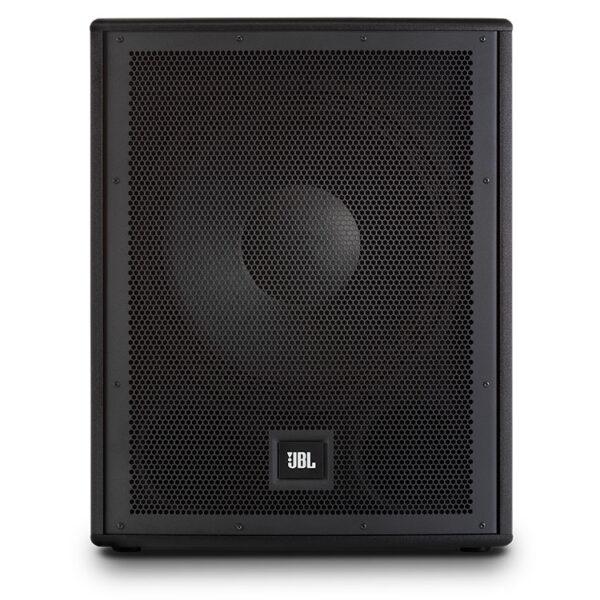 Hipercentro Electrónico bajo subwoofer parlante altavoz activo amplificado potencia frecuencia profesional quince pulgadas IRX115S JBL-Front2