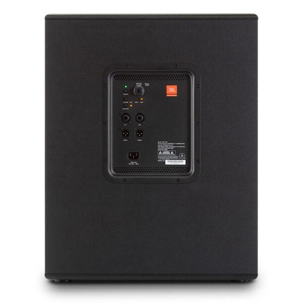 Hipercentro Electrónico bajo subwoofer parlante altavoz activo amplificado potencia frecuencia profesional quince pulgadas IRX115S JBL-Rear