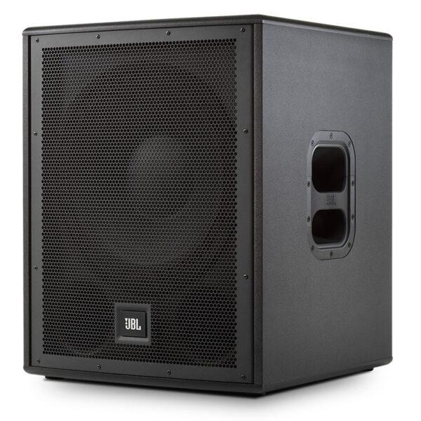 Hipercentro Electrónico bajo subwoofer parlante altavoz activo amplificado potencia frecuencia profesional quince pulgadas IRX115S JBL-Side