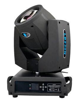 Hipercentro Electrónico cabeza móvil robótica beam iluminación audiorítmica LB230N Big Dipper-Side1