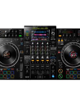 Hipercentro Electrónico controlador midi sistema dj todo en uno grabación usb scratch jog wheel efectos XDJ-XZ Pioneer-Front1
