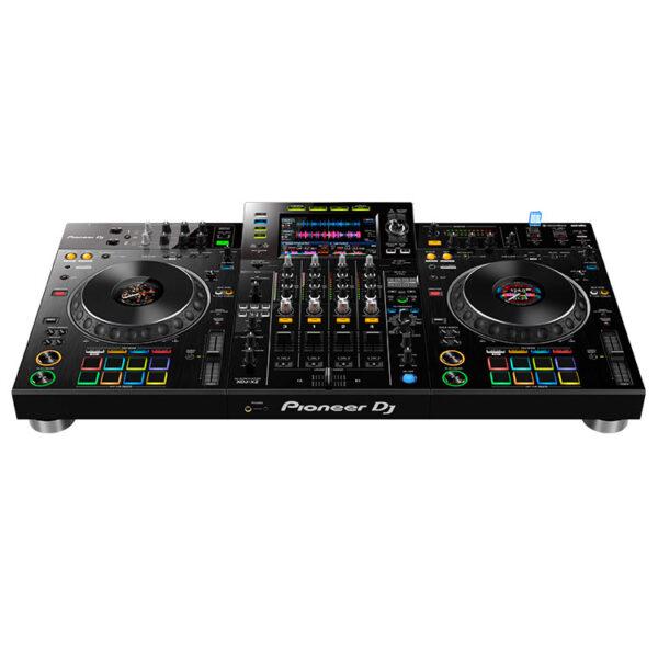 Hipercentro Electrónico controlador midi sistema dj todo en uno grabación usb scratch jog wheel efectos XDJ-XZ Pioneer-Front2