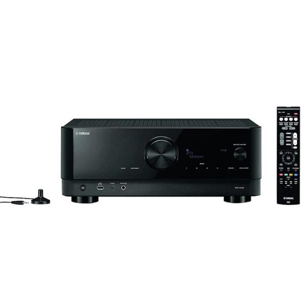 Hipercentro Electrónico recepto av amplificador potencia teatro en casa bluetooth usb Yamaha RXV4A-Front