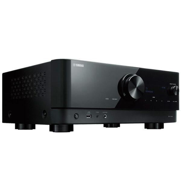 Hipercentro Electrónico recepto av amplificador potencia teatro en casa bluetooth usb Yamaha RXV4A-Side