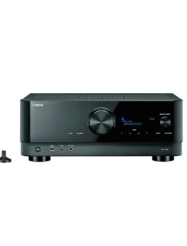 Hipercentro Electrónico recepto av amplificador potencia teatro en casa bluetooth usb Yamaha RXV6A-Front