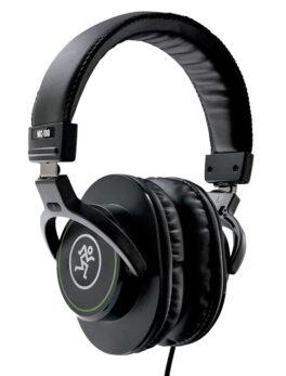 Hipercentro Electrónico audífonos auriculares estudio monitoreo grabación cerrados profesionales MC100 Mackie-Side1