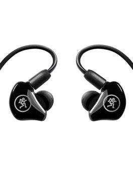 Hipercentro Electrónico auriculares audífonos in-ear internos monitoreo producción musical escucha grabación MP-120 Mackie