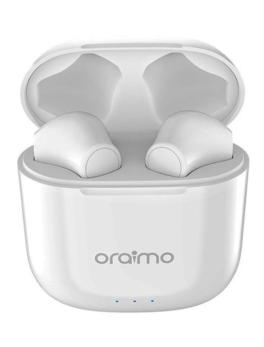 Hipercentro Electrónico audífonos bluetooth multifuncionales verdaderamente manos libres con control táctil celular dispositivos Freepods2 Oraimo-Front