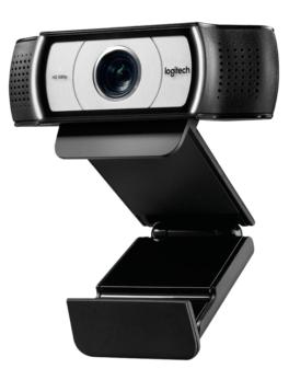 Hipercentro Electrónico cámara web webcam reunión virtual multifuncional tecnología 1080p clip C930e Logitech-Side