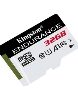 Hipercentro Electrónico tarjeta memoria micro sd grabación alta resistencia datos almacenamiento SDCE 32GB Kingston
